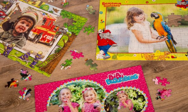 Personalisierte Fotopuzzles – 15 % Rabatt