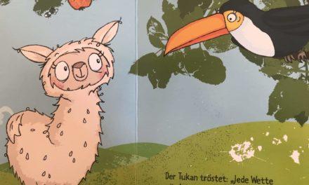 Das Alpaka muss Kacka: grossartiges Bilderbuch