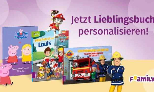 10 % Rabatt auf personalisierte Kinderbücher