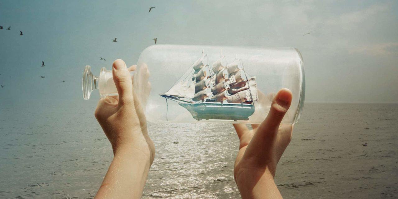 Jetzt für dich: Fakten wie das Schiff in die Flasche kommt