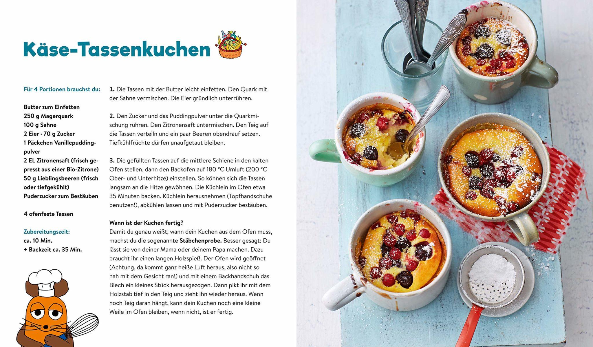 Maus-kochen-backen