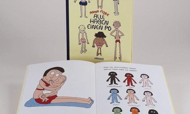 Neuerscheinung Kinderbuch: Alle haben einen Po von Anna Fiske