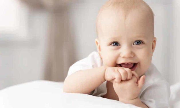 Dein Baby fröhlich, gesund und munter