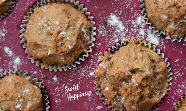 Zitronen-Muffins schnell, einfach und gesund backen