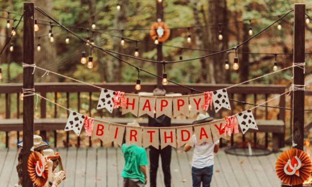 6 beliebte Geburtstagsspiele für draussen