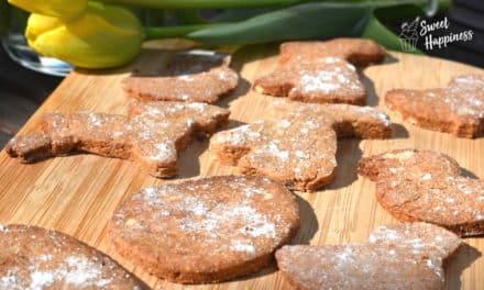Gesunde Kekse für den Frühling in 3 einfachen und schnellen Schritten