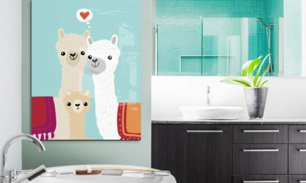 Habt ihr Lust auf wasserfeste Wandgestaltung in eurem Bad?