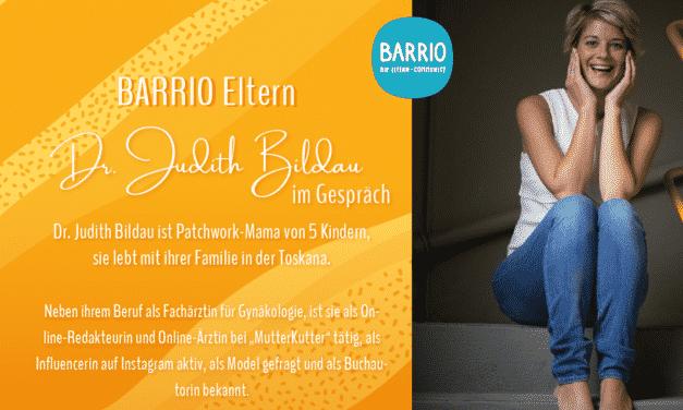 BARRIO Eltern: Dr. Judith Bildau im Gespräch