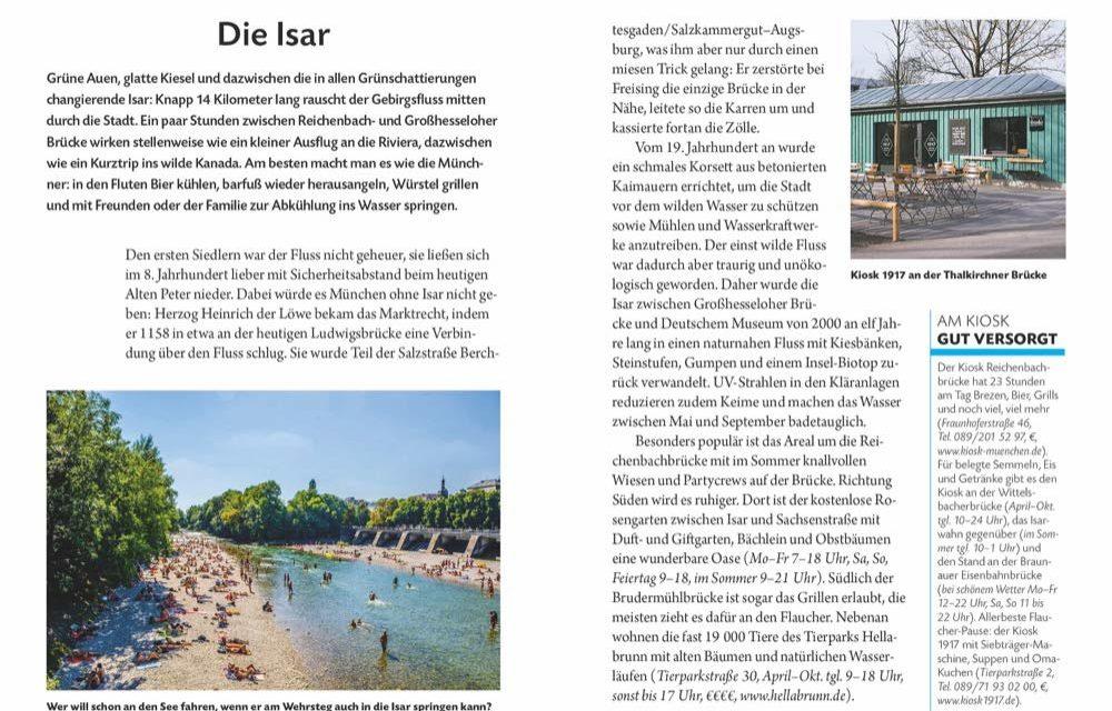 Gewinnspiel: National Geographic Reiseführer Streifzüge München
