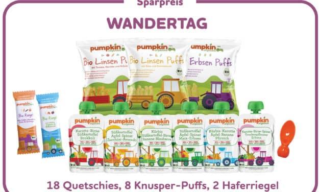 Gewinnspiel: Pumpkin Organics Snack Box Wandertag