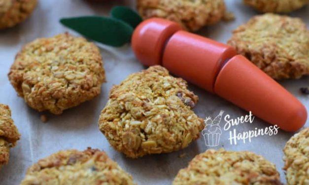 SWEETHAPPINESS: Haferflocken-Karottenkekse