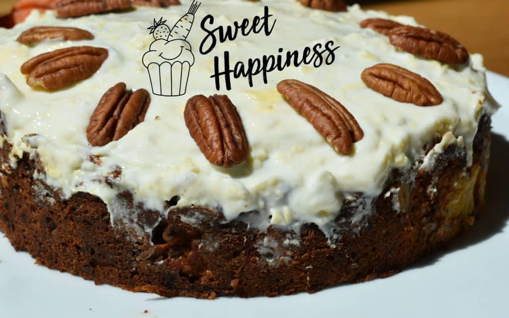 Der beste Karottenkuchen ever von Sweethappiness