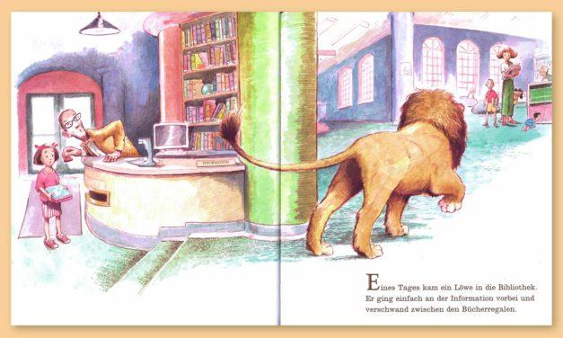 Ein Löwe in der Bibliothek: Neuerscheinung
