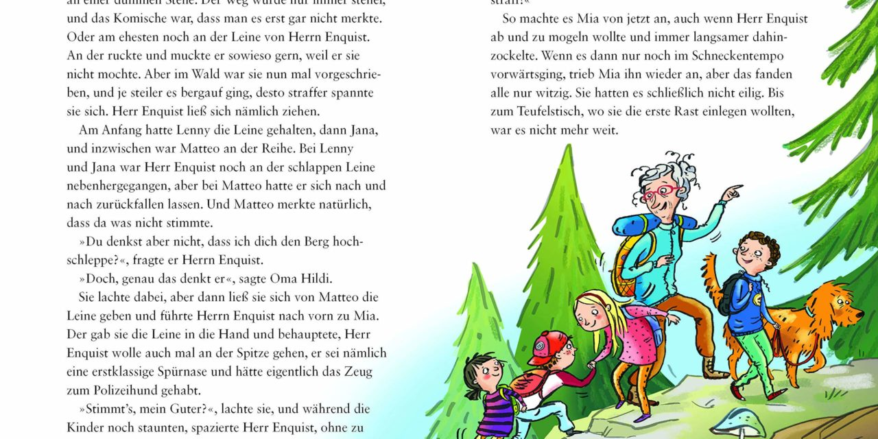 Neuerscheinung  und Gewinnspiel – Anu und Friedbert Stohner: 4 Kinder, 1 Hund und die coolste Oma der Welt