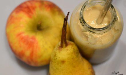 Apfel- Birne Smoothie leicht gemacht von Sweethappiness