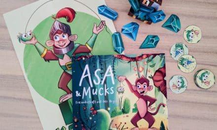 Buchvorstellung: Asa und Mucks – Freundschaft mit der Angst