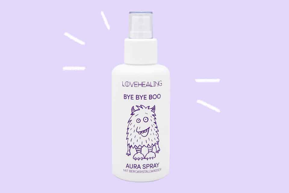 Gewinnspiel: LOVEHEALING 5 x BYE BYE BOO Aura Spray
