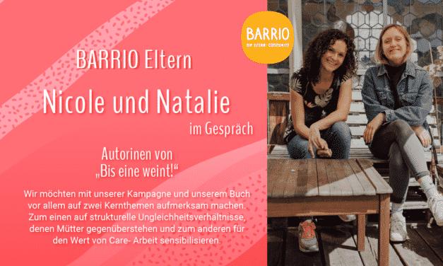 """BARRIO im Gespräch: """"Bis eine* weint!"""" Autorinnen Nicole und Natalie von facesofmoms"""
