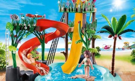Gewinnspiel: PLAYMOBIL 3x Aqua Park mit Rutschen